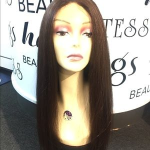 Accessories - Fulllace Freepart brown mix New Wig Style 2019